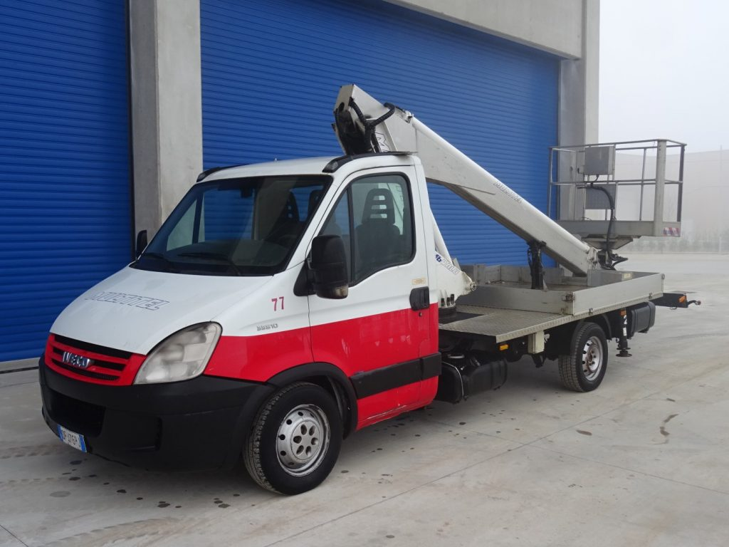 IVECO  DAILY  35S10  PAGLIERO  MULTITEL  160ALU/DS